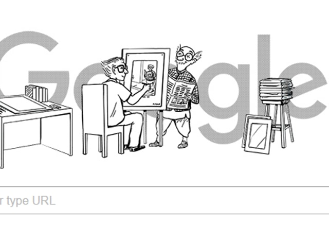 Google Doodle pays tribute to cartoonist RK Laxman.