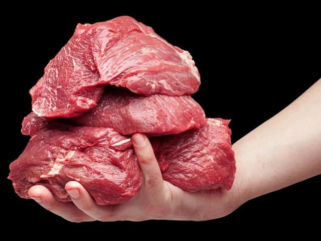 Studies suggest that an additional daily serving – fresh cuts of meat, the size of a deck of cards, or two slices of bacon or cold cuts -- raised risk of death by 13%.