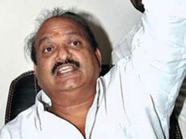 Telugu Desam Party lawmaker JC Prabhakar Reddy. The Tadipatri MLA announced his intention to accept bribes as a means of countering the lack of financial support from the state for development projects.
