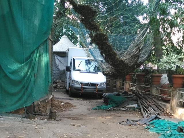 Mumbai attacks,Mobile explosives detection van
