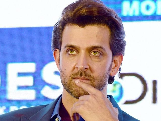 Bollywood actor Hrithik Roshan during the launch of a television program, HRX Heroes on Discovery Channel in Mumbai on Friday.