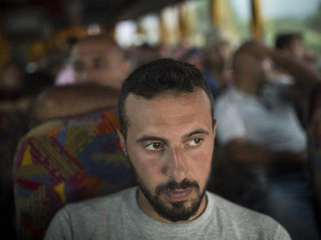 Mohammed al-Haj, a 26-year-old from Aleppo, was one of more than 600,000 migrants and refugees who flowed into Europe so far this year. Nearly half of those were Syrians, like Mohammed, fleeing their country's brutal civil war.