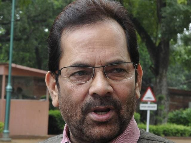 Mukhtar Abbas Naqvi,Beef row,Indian Beef bans