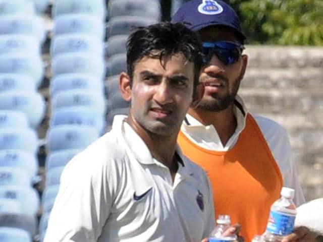 Gautam Gambhir,Manoj Tiwary,Ranji Trophy