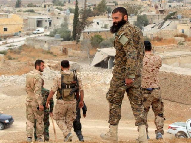 Syria rebels,Russia air strikes,Free Syrian Army