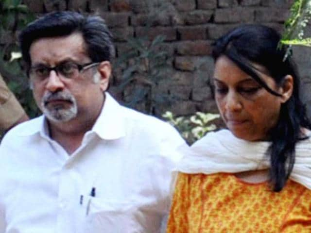 Rajesh Talwar and his wife Nupur Talwar leave for the Ghaziabad court. (Sakib Ali/ HT File Photo)
