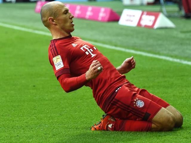 Arjen Robben,Pep Guardiola,Robert Lewandowski