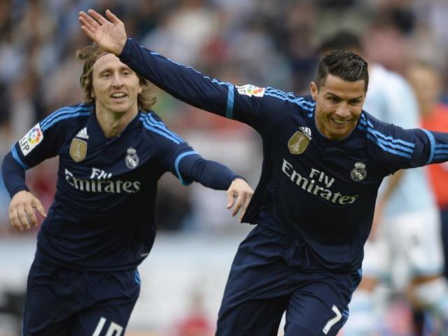 La Liga,Cristiano Ronaldo,Celta Vigo