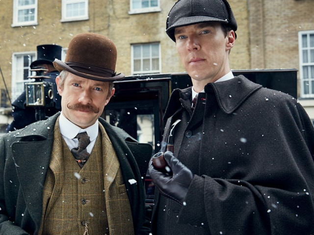 It's elementary: The Abominable Bride approaches.