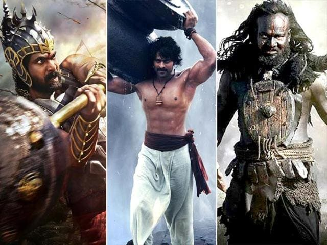 Rana Daggubati and Prabhas play two cousins brought up by the same woman.