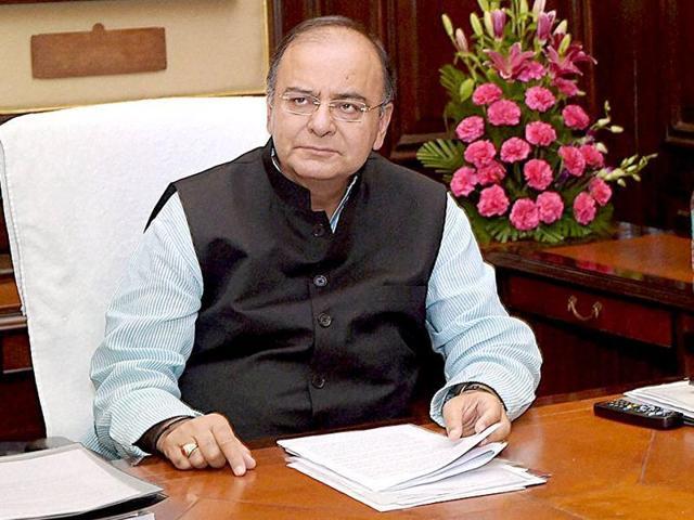File photo of Union finance minister Arun Jaitley.