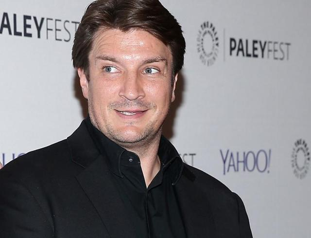 Nathan Fillion at the Dr. Horrible's Sing-Along Blog Reunion in New York on October 10.