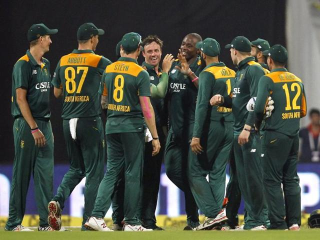 India vs South Africa cricket series 2015,Mumbai ODI,MS Dhoni
