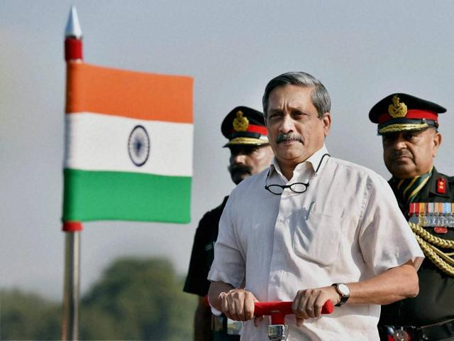 Defence minister Manohar Parrikar will embark on a two-day visit to the United States to identify future military tecnologies, as well as expressing concern over the nucelar threat Islamabad poses to India.