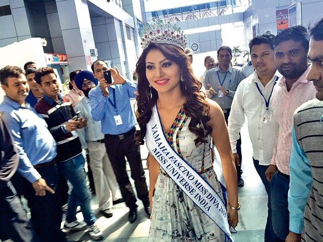 Uttarakhand girl Urvashi Rautela, who has been selected to represent India in the upcoming Miss Universe