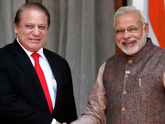 Prime Minister Narendra Modi reached out to Pakistan despite frosty relations between the two countries.