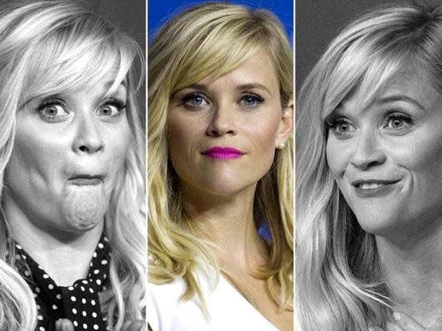 Actor Reese Witherspoon promotes her film Wild in Toronto.