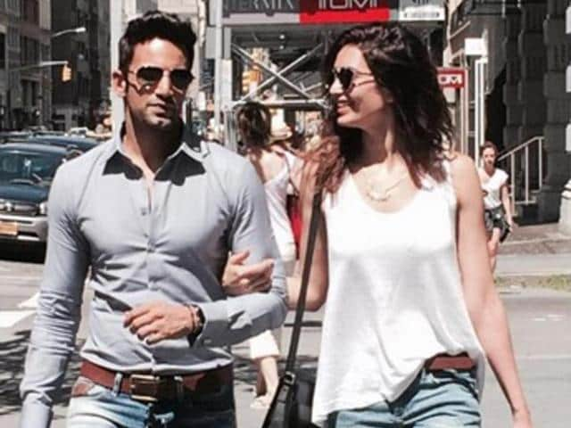 Love birds Upen Patel and Karishma Tanna professed their love for each other on reality show Big Boss 8.