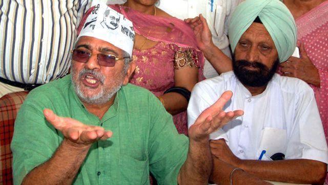 Suspended MP of AAP Dharamvira Gandhi(HT Photo)