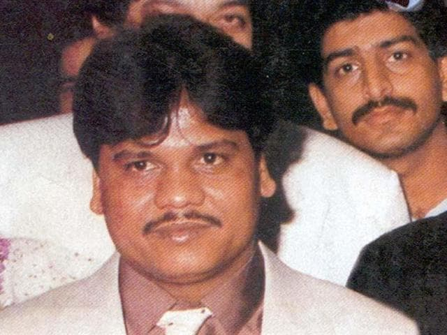 File picture of underworld gangster Chhota rajan, alias  Rajendra Sadashiv Nikhalje.  Union home minister Rajnath Singh said on Monday Chhota Rajan was arrested by Indonesian authorities in Bali after being on the run for decades.