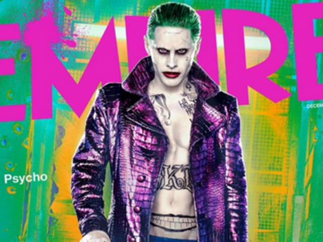 Jared Leto as the clown prince of crime. Leto plays Joker in Suicide Squad.
