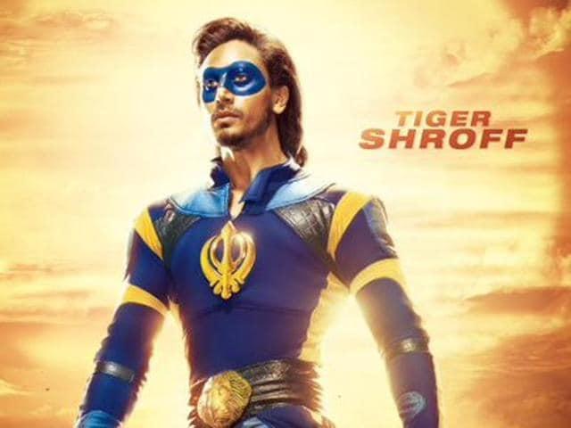 Tiger Shroff plays superhero in Remo's A Flying Jatt