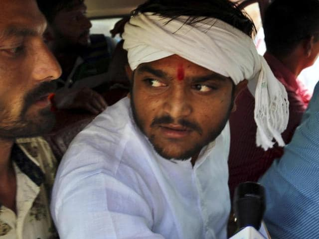 The sedition charge was slapped against Hardik Patel, 22, last week after he advised a Surat youth, Vipul Desai, not to think of committing suicide but show courage to kill a policeman or two.