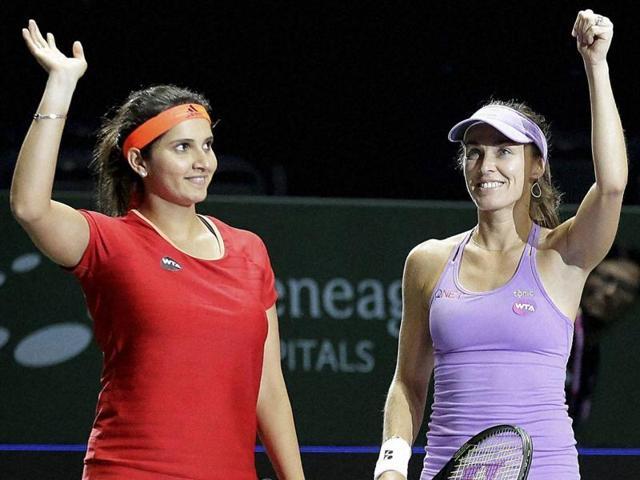 WTA Finals,Sania Mirza,Martina Hingis