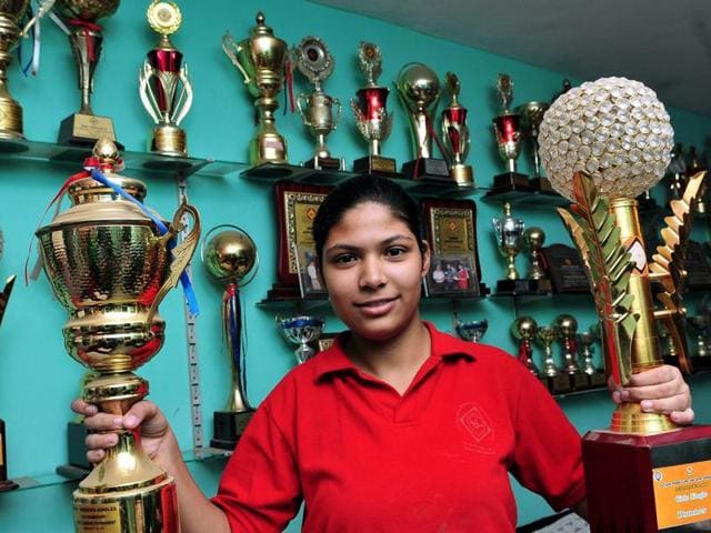 The stage was set more than 200 kilometre away from Tuba's home in Chandigarh and the event was her maiden senior appearance at 7th International Federation Cup carrom tournament in New Delhi.