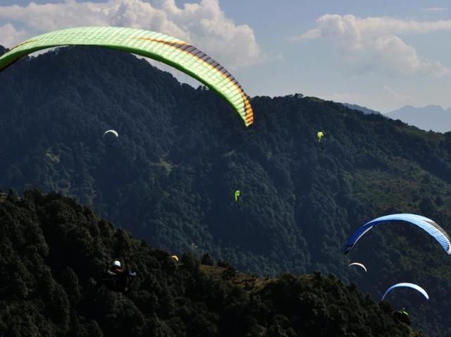 Ruth Churchill Dower,Paragliding World Cup 2015,Bandla hills