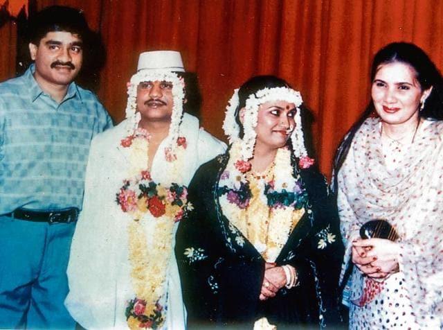 Chhota Rajan And His Wife Sujata Nikhalje Are Seen With Dawood Ibrahim Mehjabeen