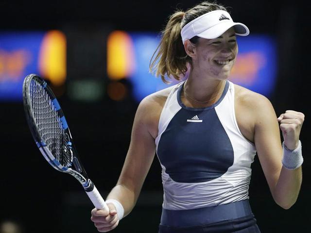 WTA Finals,Garbine Muguruza,Lucie Safarova