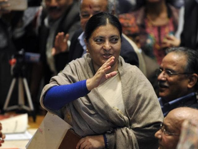 Nepal presidential polls,Woman Nepalese President,Bidhya Bhandari