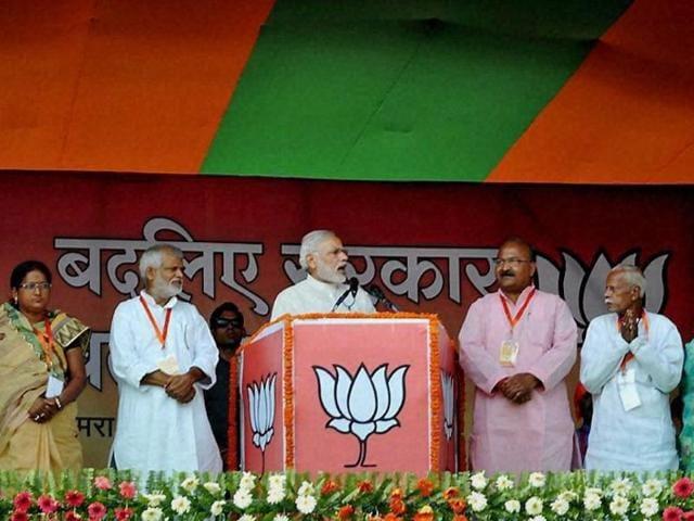 Bihar assembly polls 2015,Narendra Modi,Grand Alliance