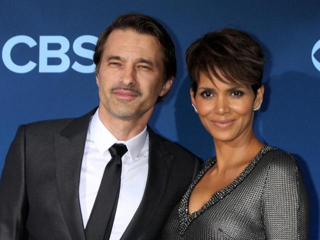 Olivier Martinez and Halle Berry at the Extant Premiere Screening at the California Science Center.