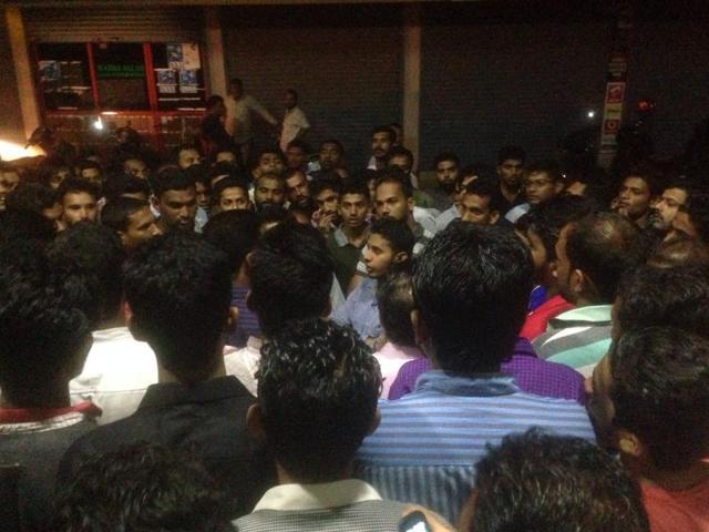 Riot in Karnataka
