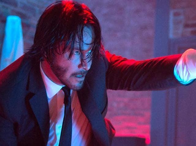 Oh yes, he's back: Keanu Reeves as John Wick.