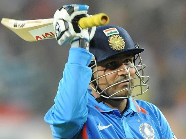 A file photo of cricketer Virender Sehwag