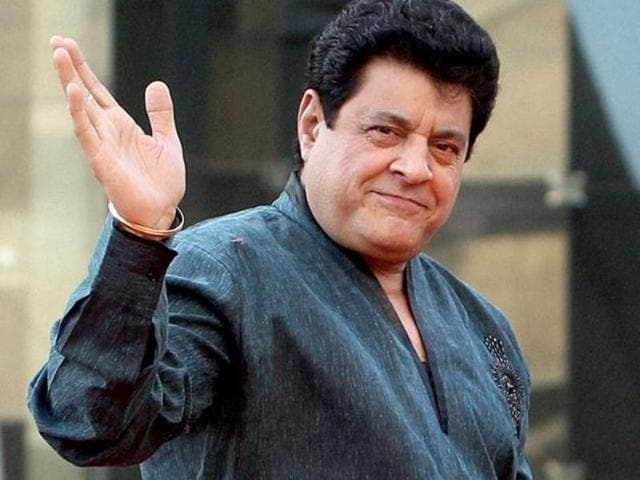 Actor and BJP leader Gajendra Chauhan at the party's National Executive in New Delhi.