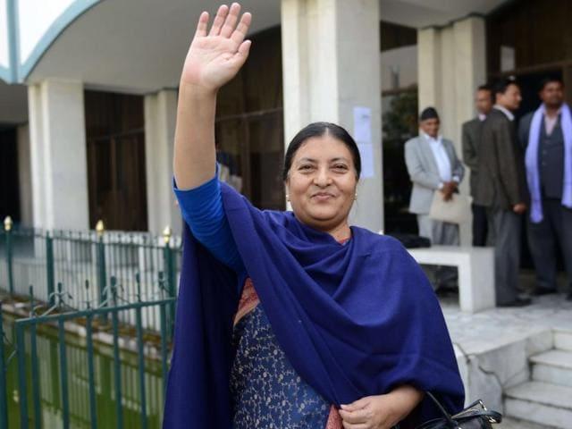 Nepal's 1st woman President
