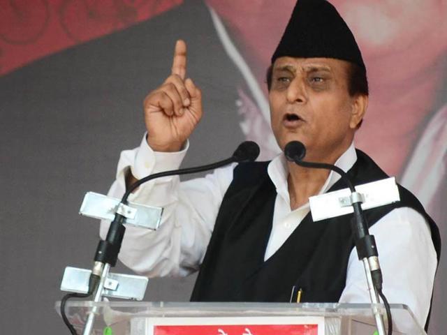 Samajwadi Party leader Mohammad Azam Khan.