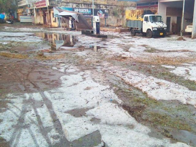 weather,hailstorm in Madhya Pradesh,hailstorm hits Shivpuri