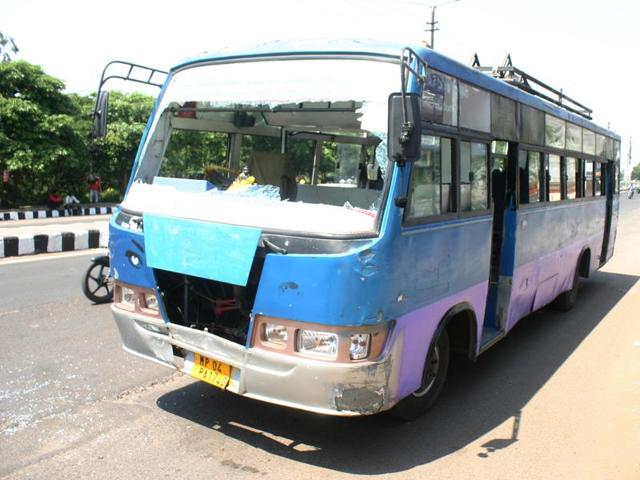 Sendhwa bus burning