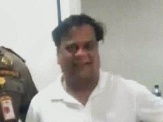 File photo of Underworld don Chhota Rajan. He was caught by Indonesian police in Bali on Sunday.