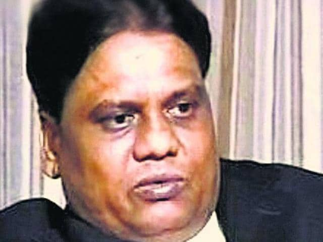 File photo of underworld don Chhota Rajan. He was caught by Indonesian police in Bali.