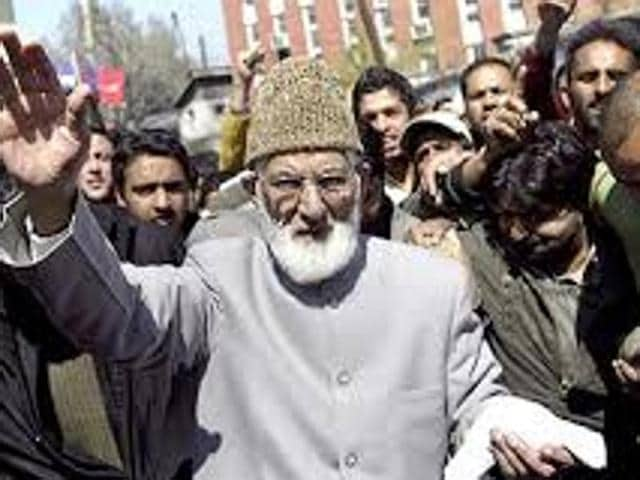Hurriyat Conference,Syed Geelani,Srinagar Million March