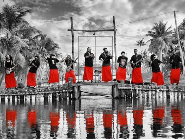 Thaikkudam Bridge, a Cochin-based, multi-genre, multilingual band has a total of 16 members