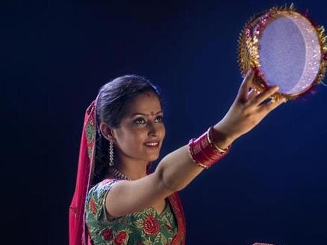 Karva Chauth requires women to keep fast, without even a sip of water, for the entire day.