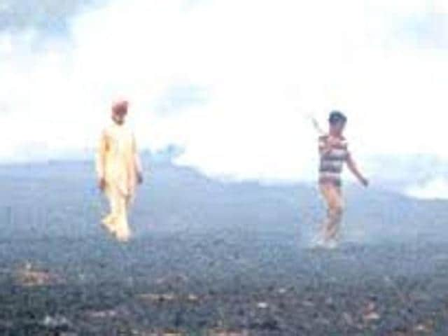 Despite the ban, farmers continue to burn the crop residue, which affects the fertility of soil.