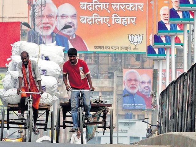 BJP has been involved in a high-voltage media campaign for the crucial polls.